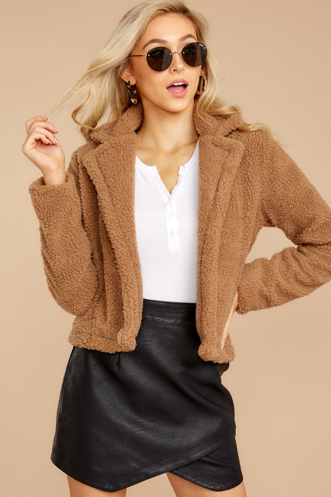 Wow of Silence Camel Coat