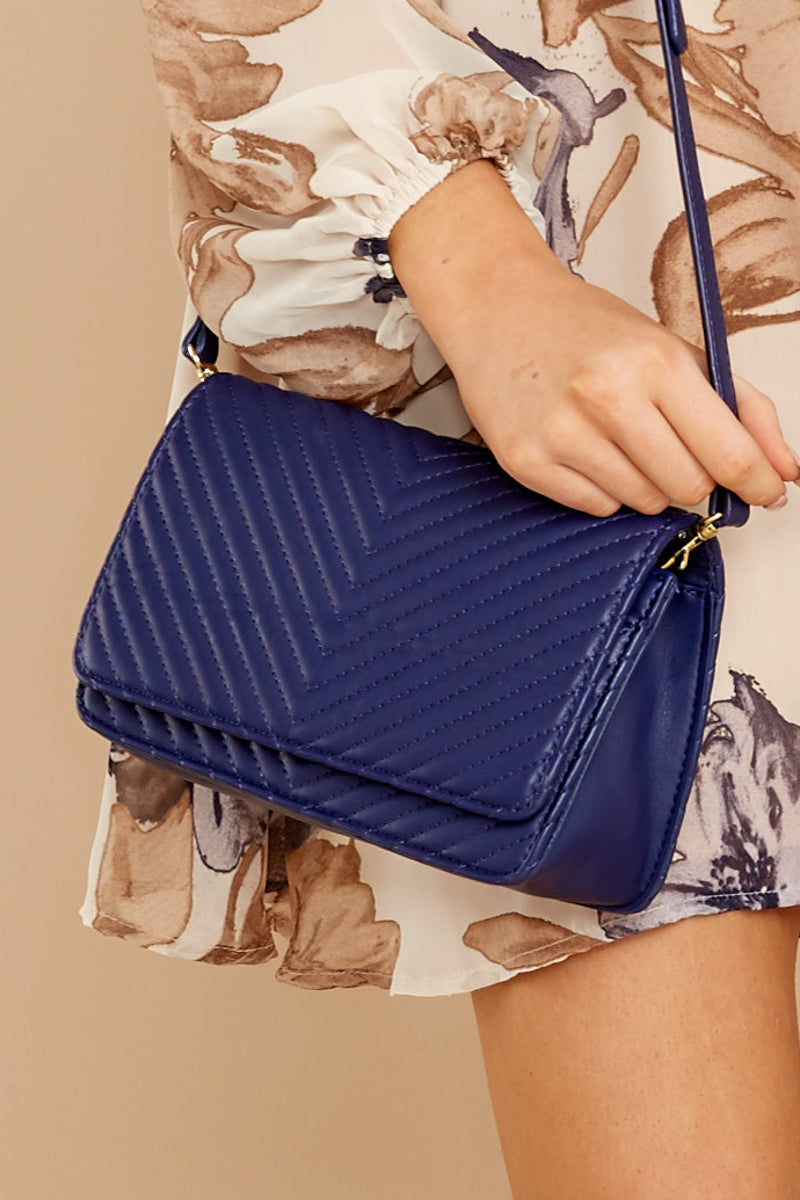 Totally Chic Navy Blue Purse