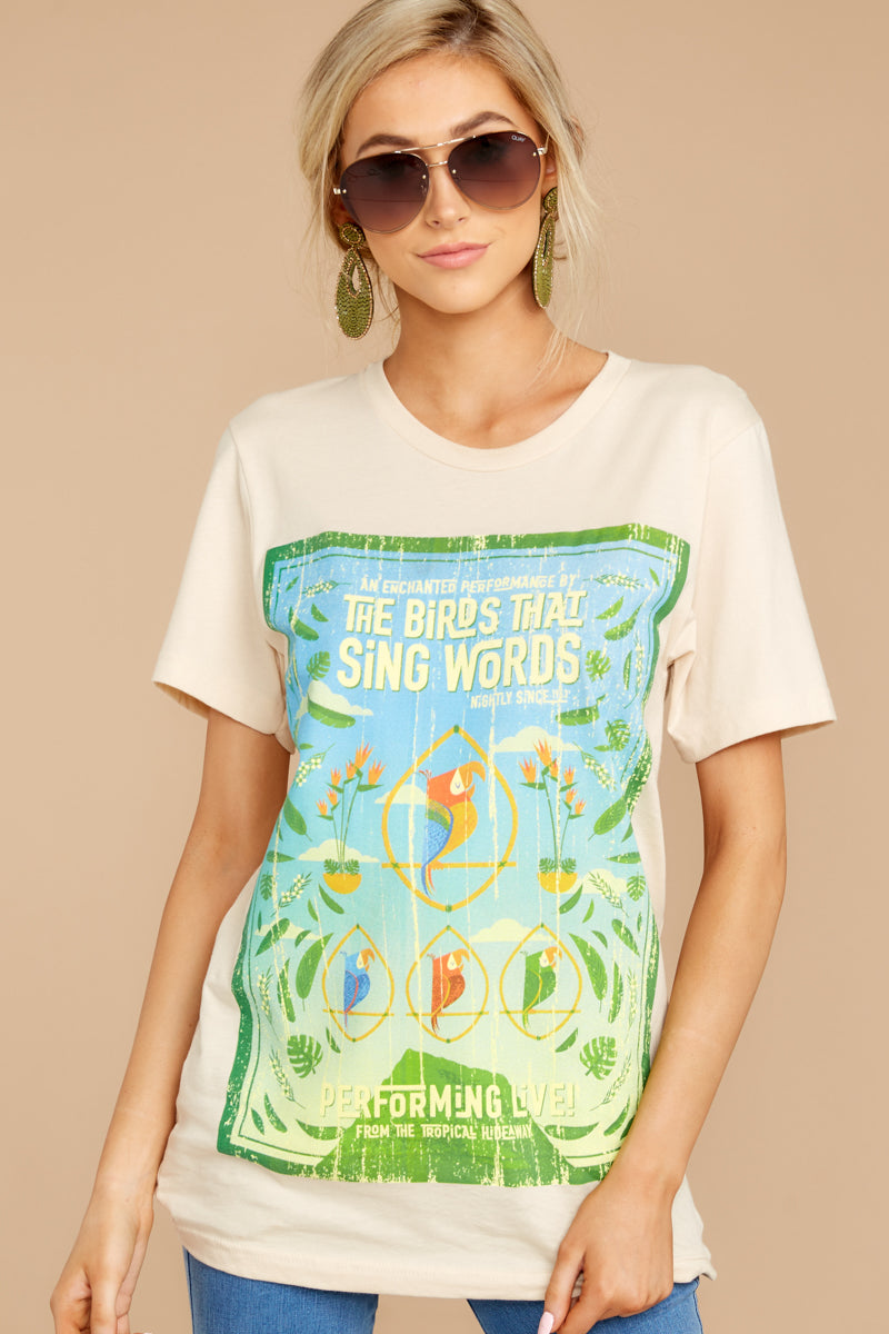 The Birds That Sing Words Tour Tee