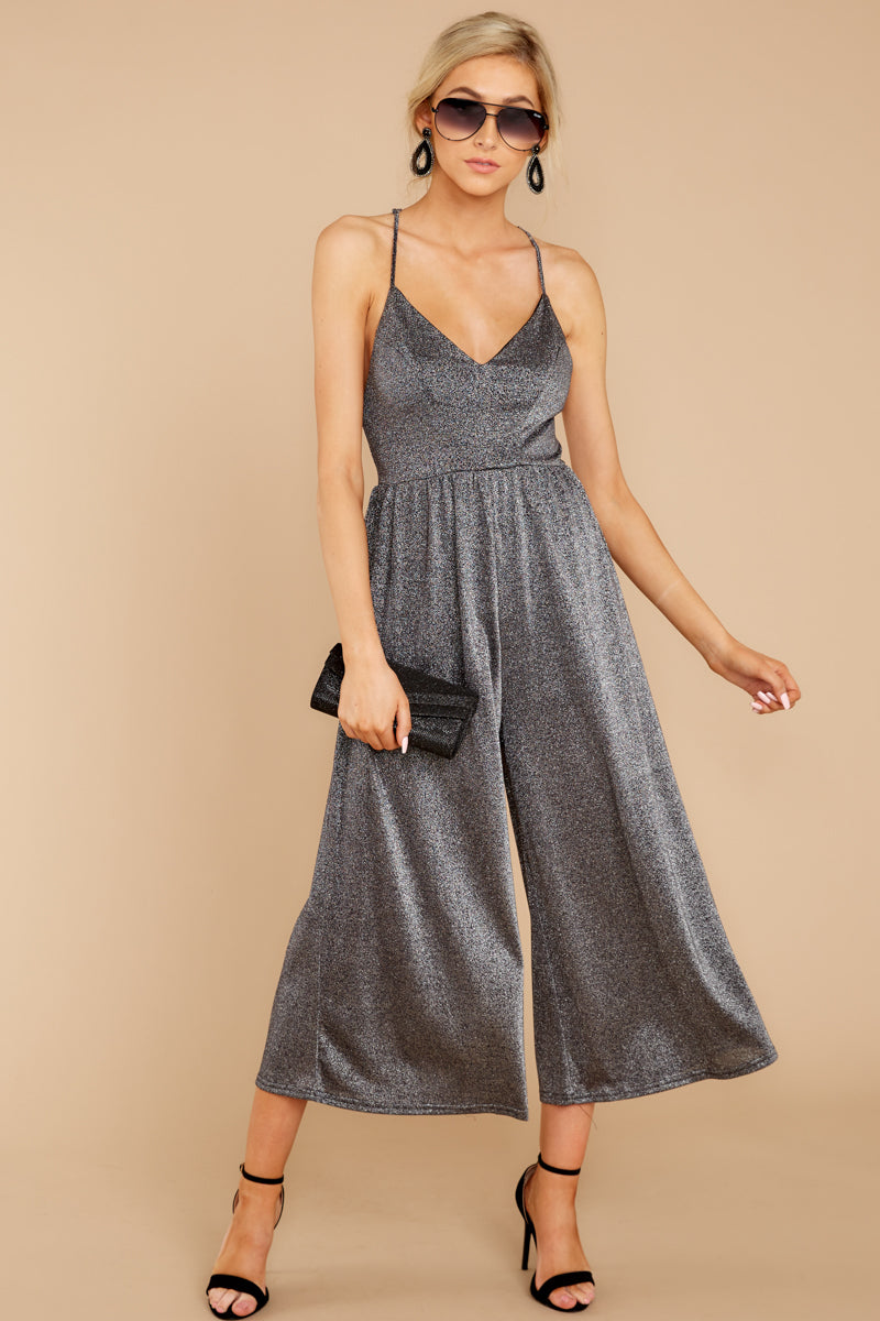 Goin' Solo Grey Jumpsuit