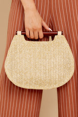Always Working It Beige Handbag