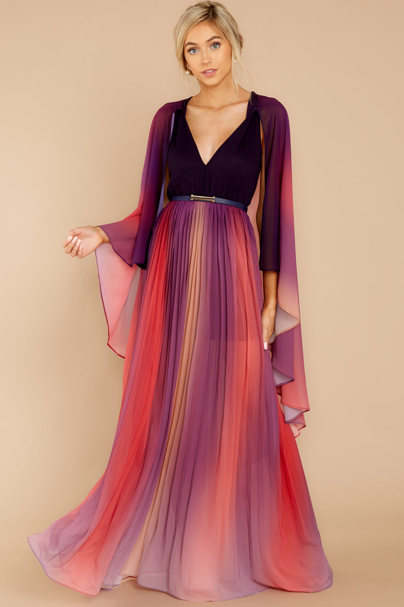 Ever Mine Ever Thine Pink Multi Maxi Dress