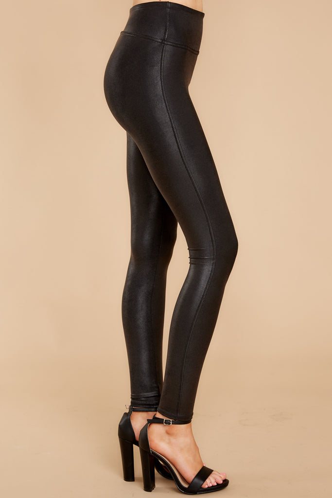 1 Heart To Heart Black Tight End Tights at reddressboutique.com