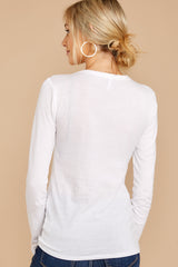 4 The Premium Cotton Fitted Long Sleeve Crew at reddress.com
