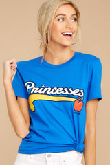 4 Snow Princesses Jersey Tee at reddressboutique.com