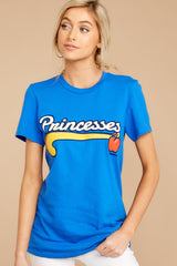 6 Snow Princesses Jersey Tee at reddressboutique.com