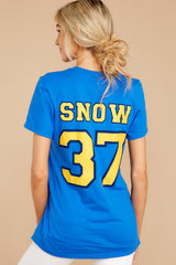 7 Snow Princesses Jersey Tee at reddressboutique.com