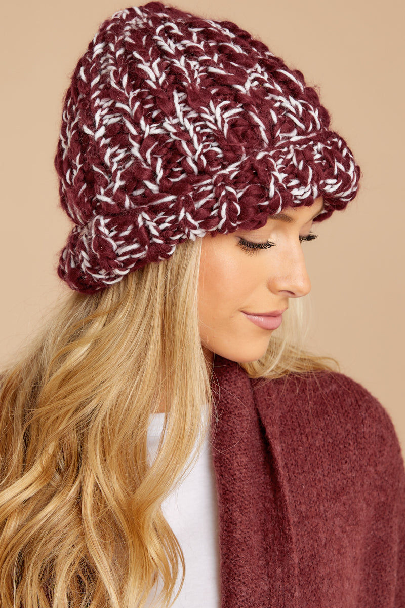 What's Cooler Than Cool Burgundy Hat