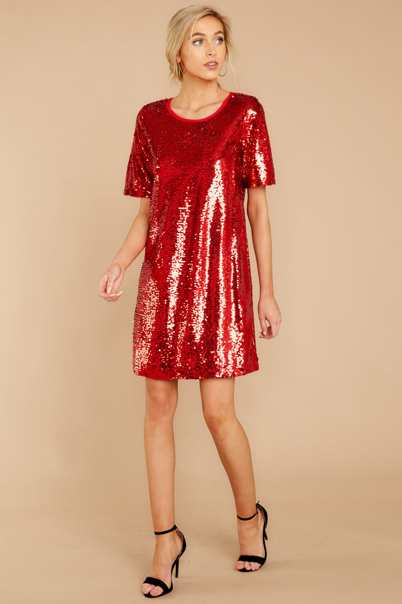 eb16e7ce Red Sequin Dress: Shop Red Sequin Dress - Macy's