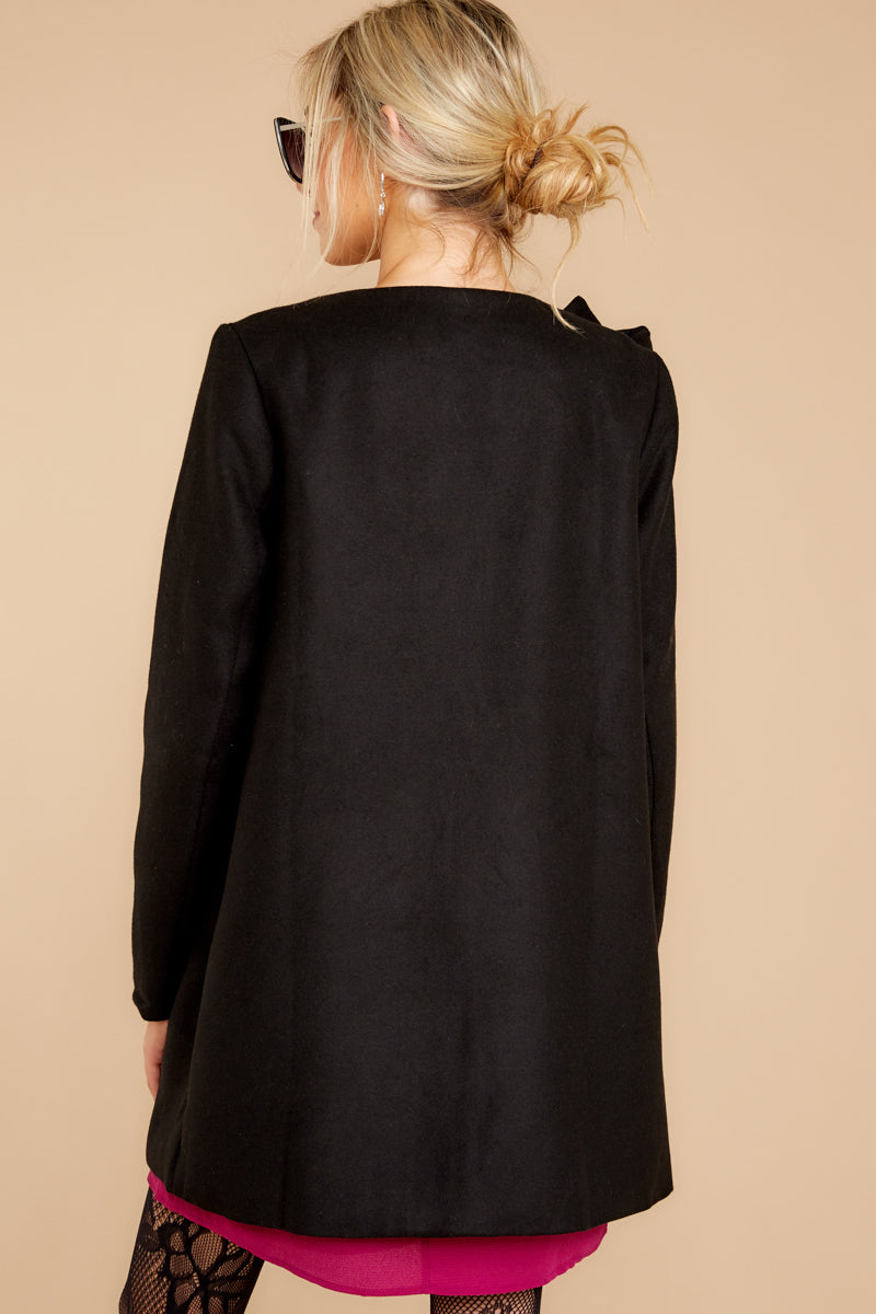 Ladies First Black Coat