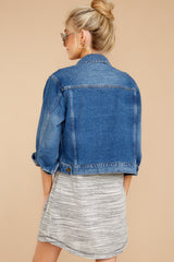 It's Gotta Be Done Medium Wash Denim Jacket