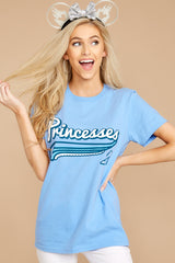 1 Cindy Princesses Jersey Tee at reddressboutique.com