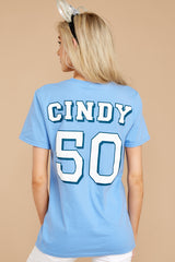 3 Cindy Princesses Jersey Tee at reddressboutique.com