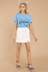 5 Cindy Princesses Jersey Tee at reddressboutique.com