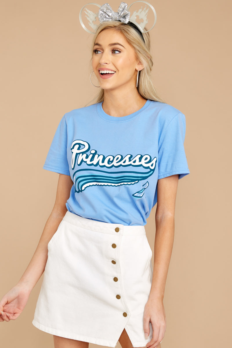 6 Cindy Princesses Jersey Tee at reddressboutique.com
