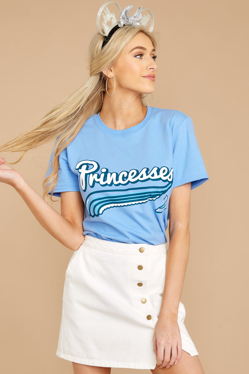 7 Cindy Princesses Jersey Tee at reddressboutique.com