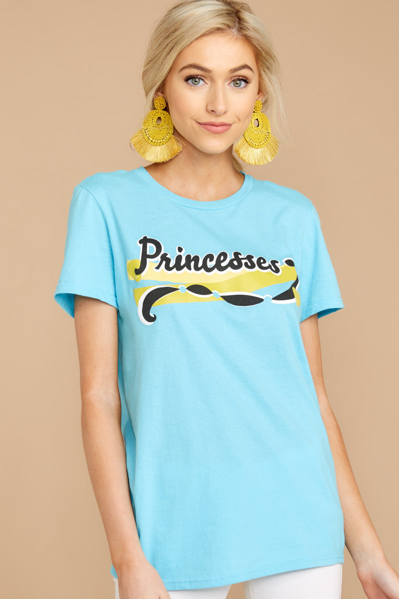 6 Jasmine Princesses Jersey Tee at reddressboutique.com