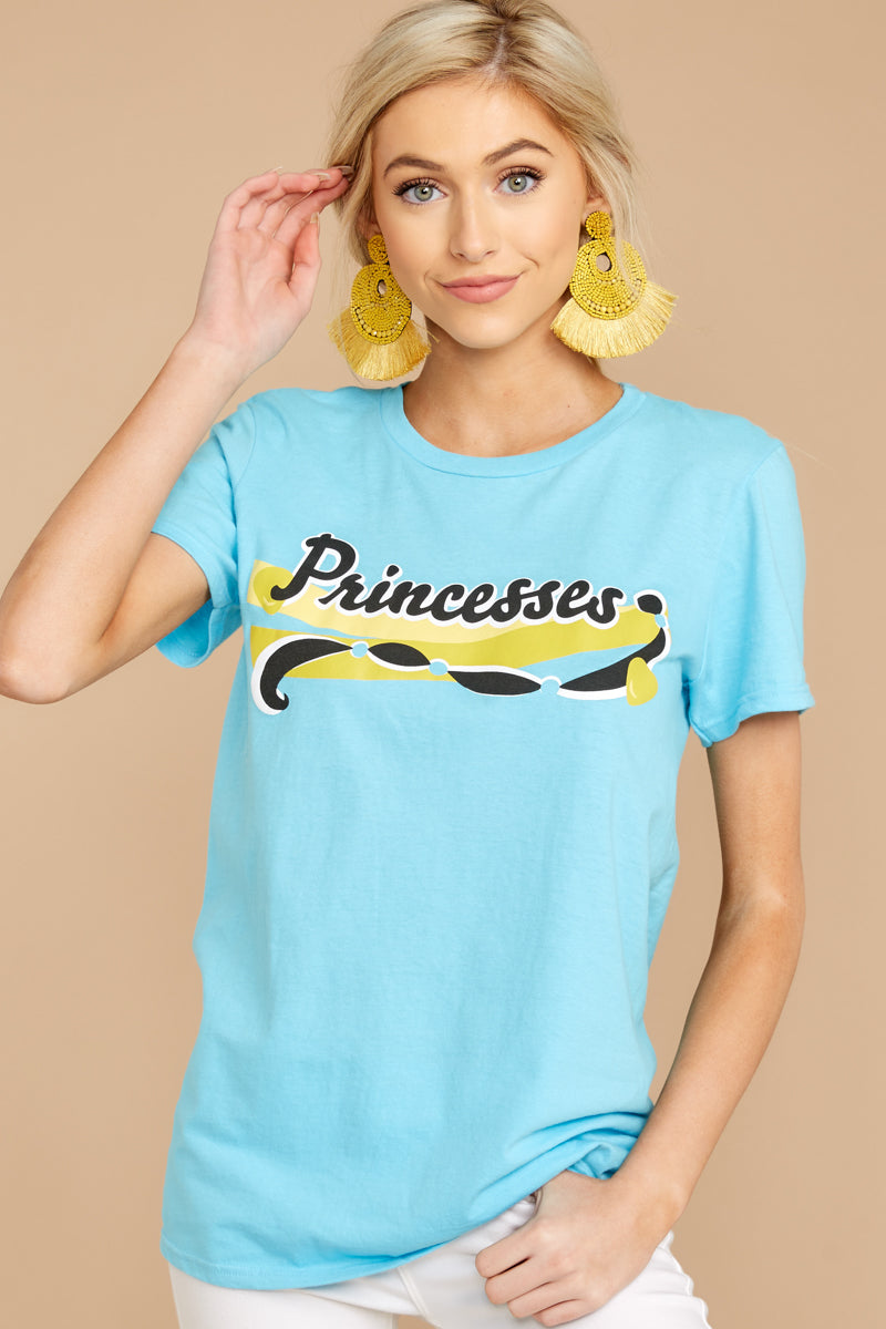 7 Jasmine Princesses Jersey Tee at reddressboutique.com