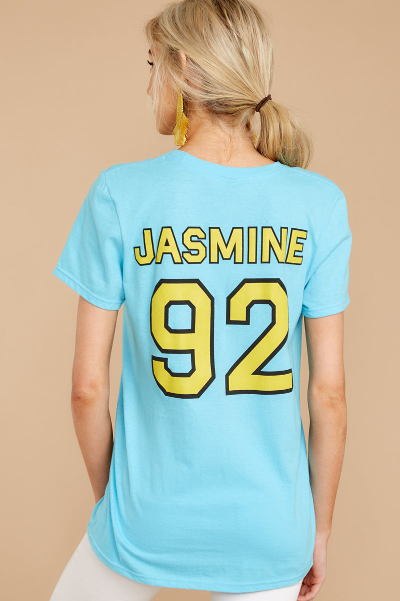 9 Jasmine Princesses Jersey Tee at reddressboutique.com