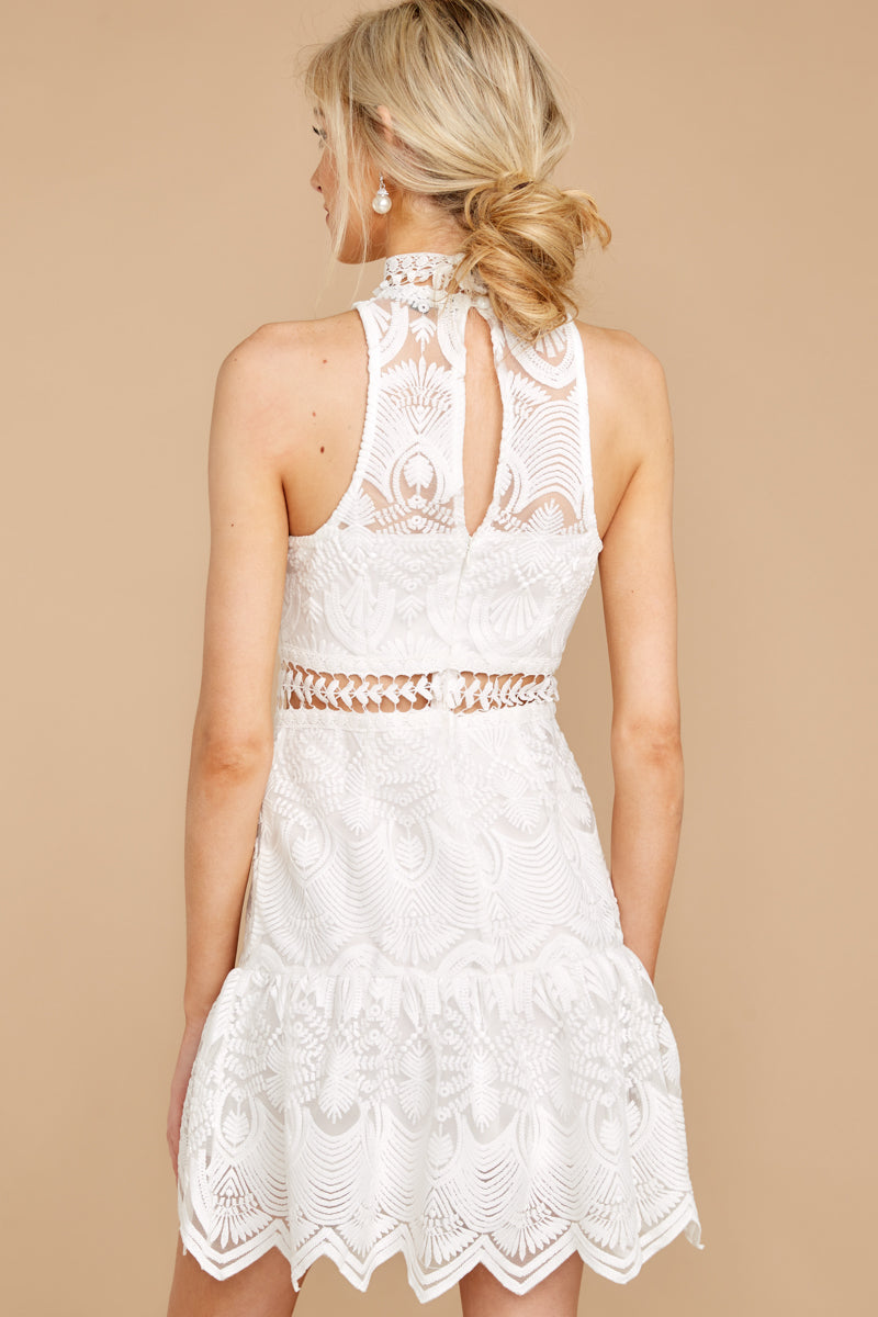 Well With My Soul White Lace Dress