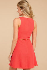 No Better View Red Dress at reddressboutique.com