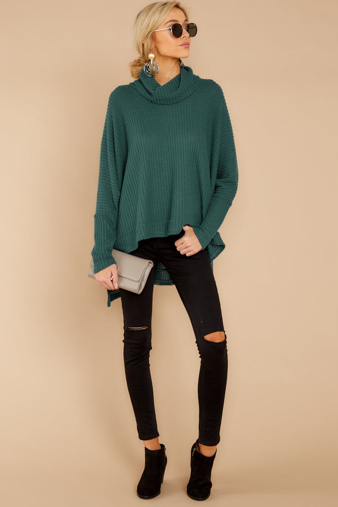 912a0fdfe7 Heavenly White Cowl Neck Sweater - Soft Pullover Sweater - Top -  34 ...