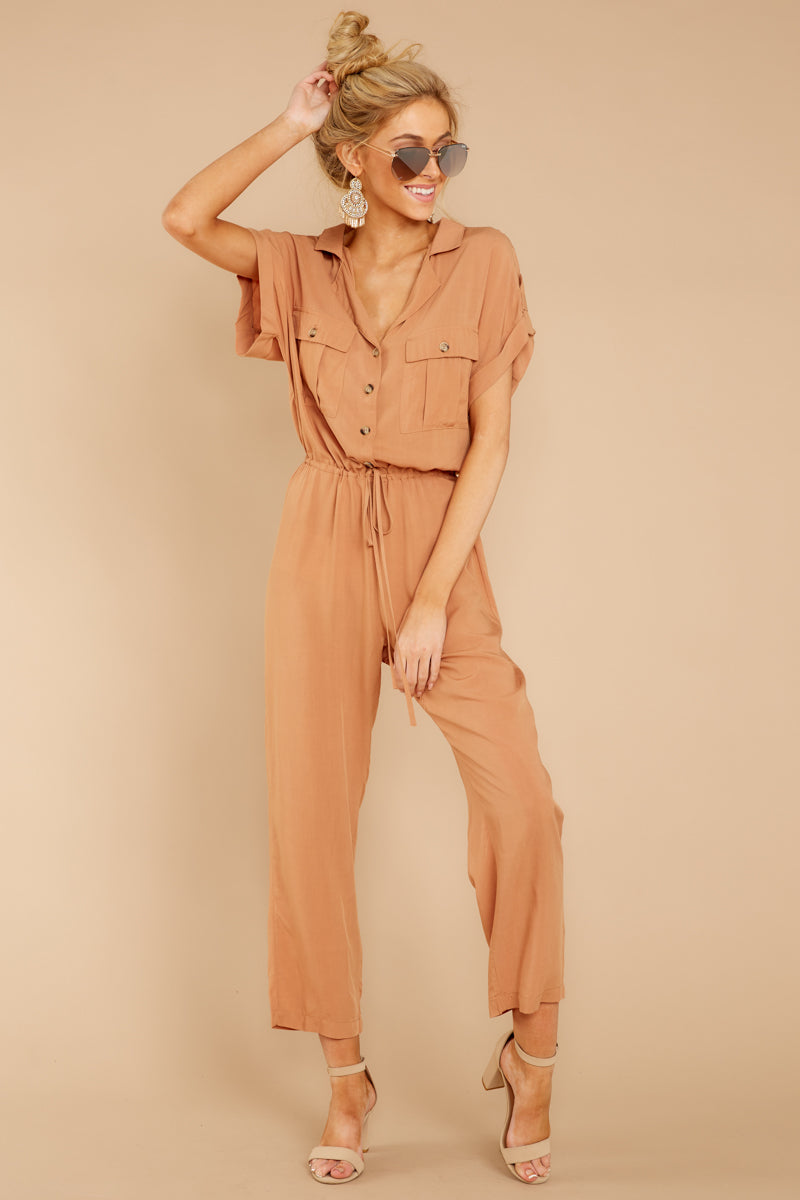 Can Do Camel Jumpsuit