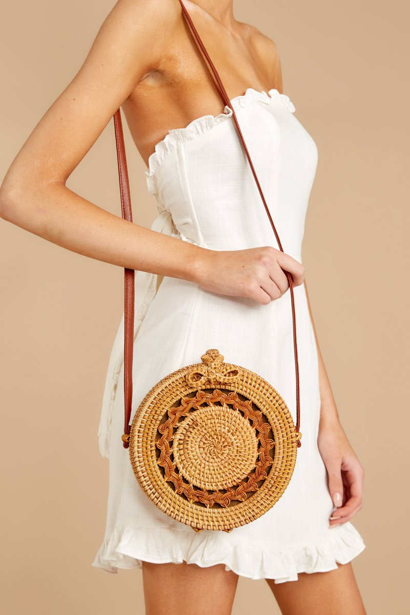 4 Worry Less Round Bag at reddressoutique.com
