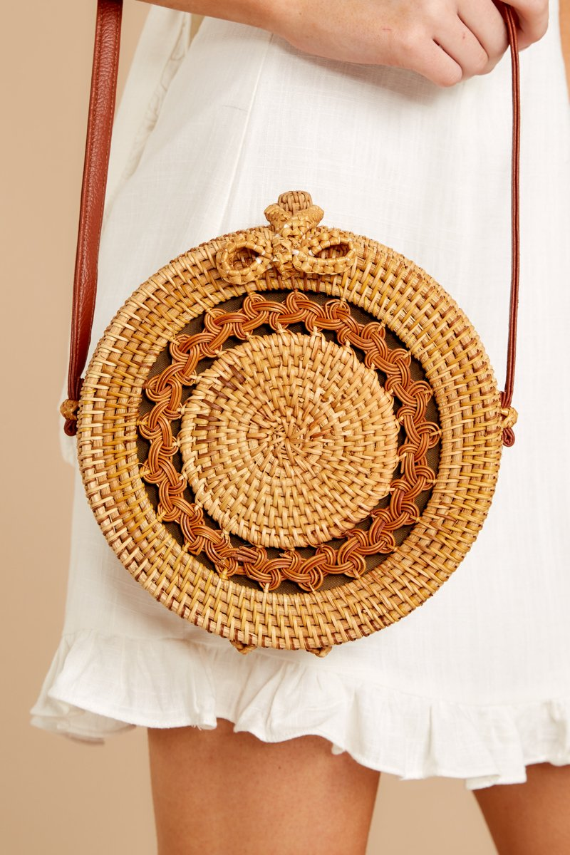 3 Worry Less Round Bag at reddressoutique.com