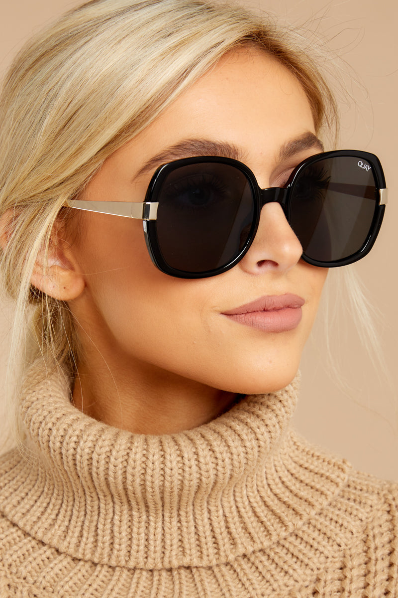 229dbe8566 Quay Australia Gold Dust Sunglasses - Oversize Sunnies - Glasses ...