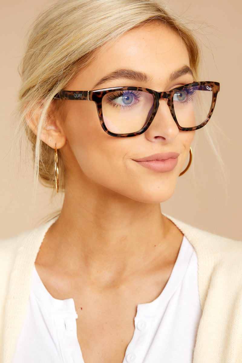 f586c40785 Quay Australia Blue Light Glasses - Tortoise Glasses - Eyewear -  50 ...
