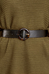 1 An Acquired Waist Black Belt at reddressboutique.com