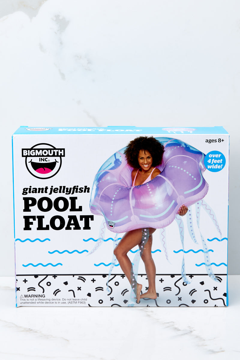 1 Giant Jellyfish Pool Float at reddress.com