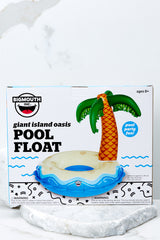 2 Giant Palm Tree Island Pool Float at reddressboutique.com