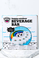 2 Happy Rainbow Swim Up Bar at reddressboutique.com
