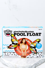 Giant Red Butterfly Wings Pool Float