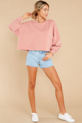 2 Tempest Petal Pink Sweatshirt at reddress.com