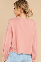 8 Tempest Petal Pink Sweatshirt at reddress.com