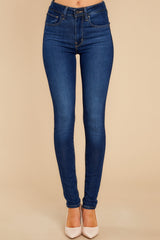 2 721 High Rise Skinny Jeans In Bogota Feels at reddress.com