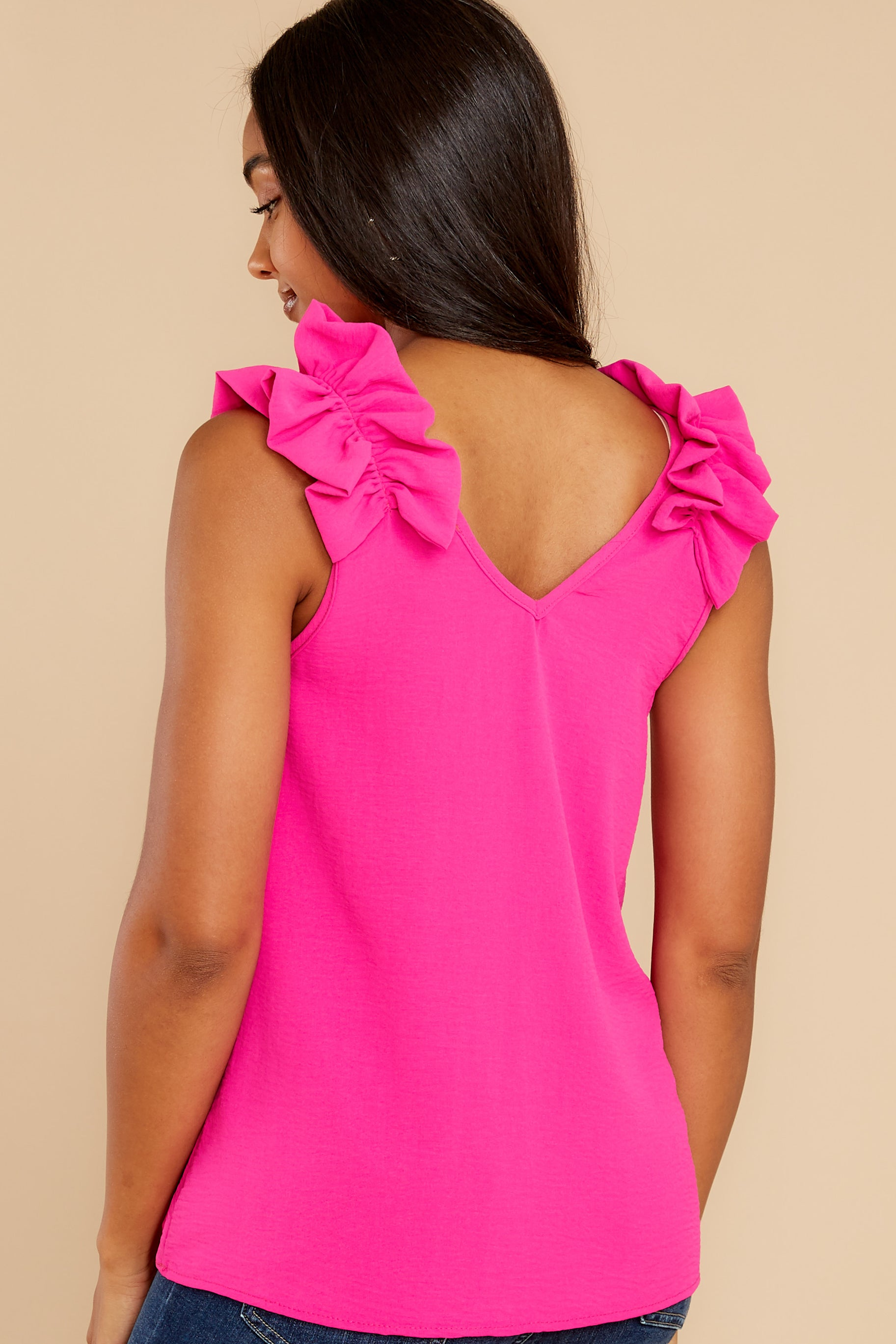 8 Game Ready Hot Pink Top at reddress.com