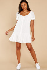 1 Small Details White Dress at reddress.com