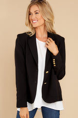 6 Out Of The Box Black Coat at reddress.com
