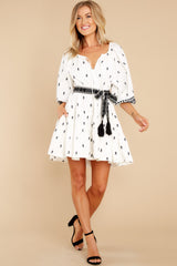 4 Paloma Ivory Mini Dress at reddress.com