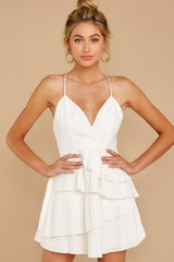 4 Knockout Sway White Dress at reddressboutique.com