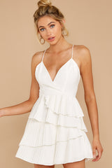 5 Knockout Sway White Dress at reddressboutique.com