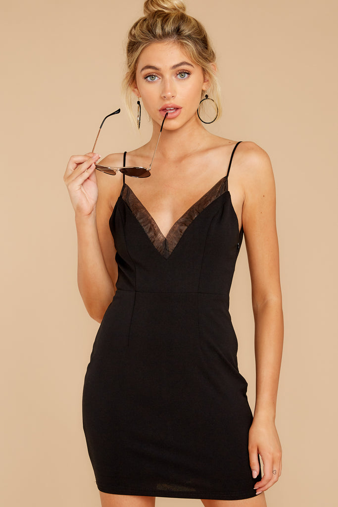 1 Stars Come Out Black Dress at reddressboutique.com