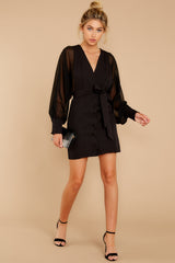 2 Life Of Luxury Black Dress at reddressboutique.com