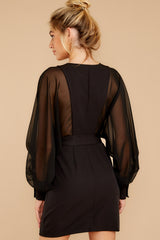 8 Life Of Luxury Black Dress at reddressboutique.com