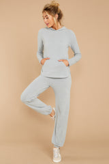 4 CozyChic Ultra Lite® Blue Water Track Pants at reddressboutique.com