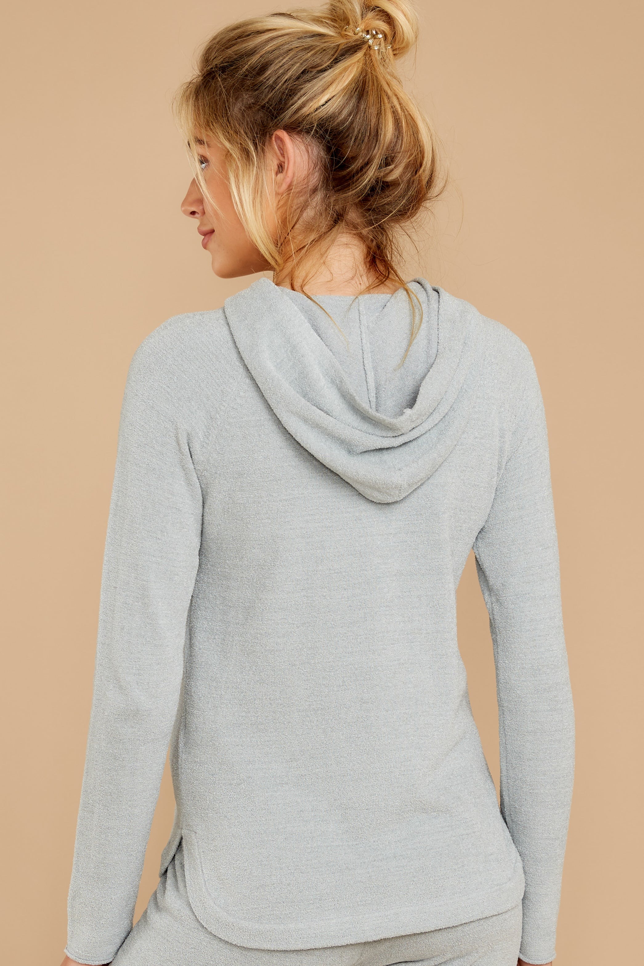 8 CozyChic Ultra Lite® Blue Water Pullover Hoodie at reddressboutique.com